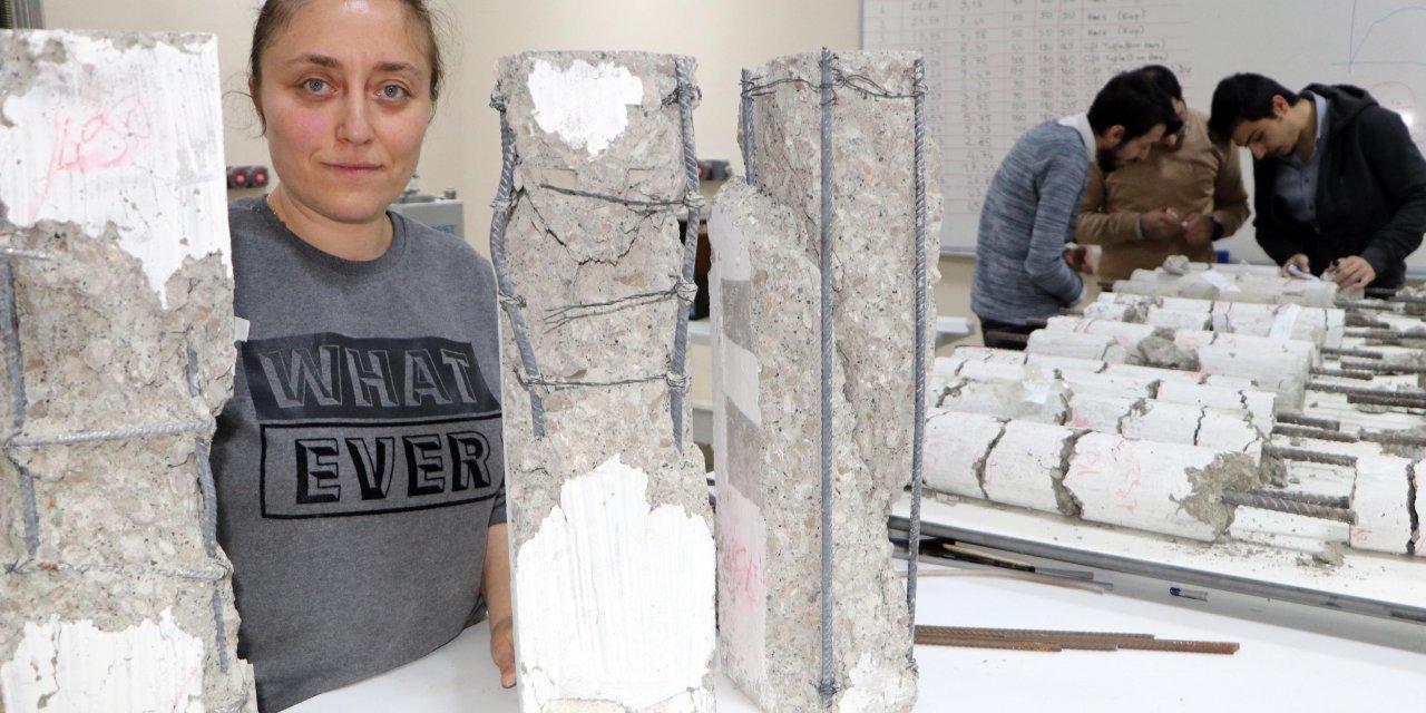 Serada beton dökerek, soğuk ülkelerde inşaat için proje geliştirdiler