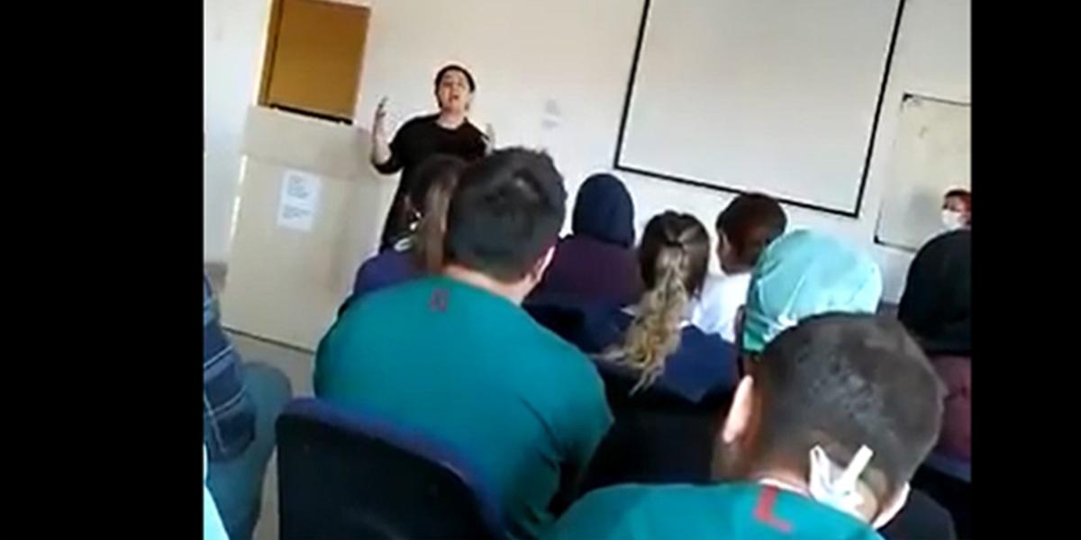 Prof. Dr. Recep Öztürk Hekim Semineri videosu ile ilgili açıklama yaptı