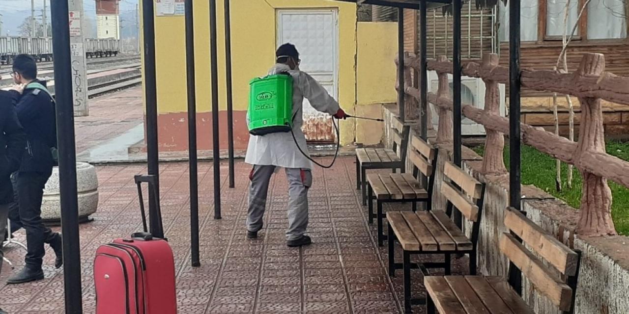 Gölbaşı'nda dezenfekte çalışmaları sürüyor