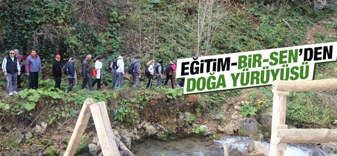 Eğitim-Bir-Sen Üyeleri Doğa Yürüyüşünde