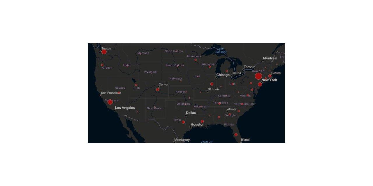 ABD'de koronavirüsten ölenlerin sayısı 150'ye yükseldi