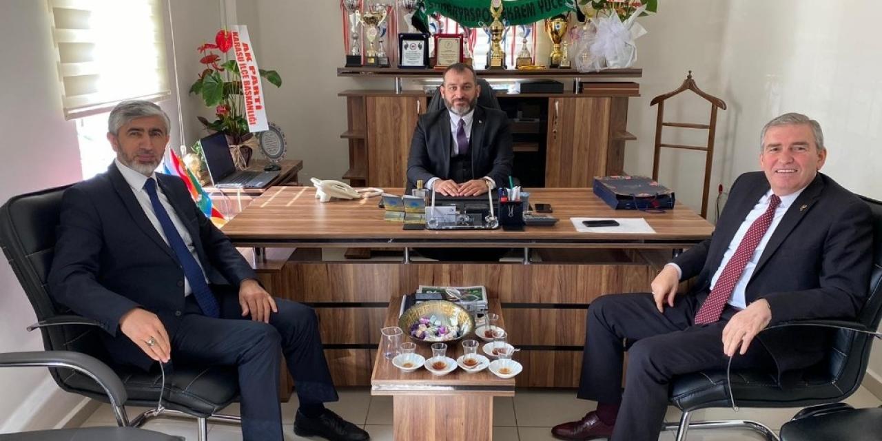 Başkanlar koronavirüs tedbirleri için bir araya geldi