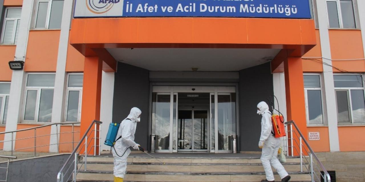 Bitlis'te dezenfekte çalışması
