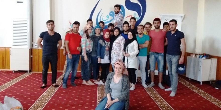 Eyyübiye'deki cami süslemeleri Harran Üniversitesinden