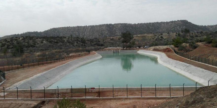 Mut Kurtsuyu Sulama Projesi yüzde 55'e ulaştı