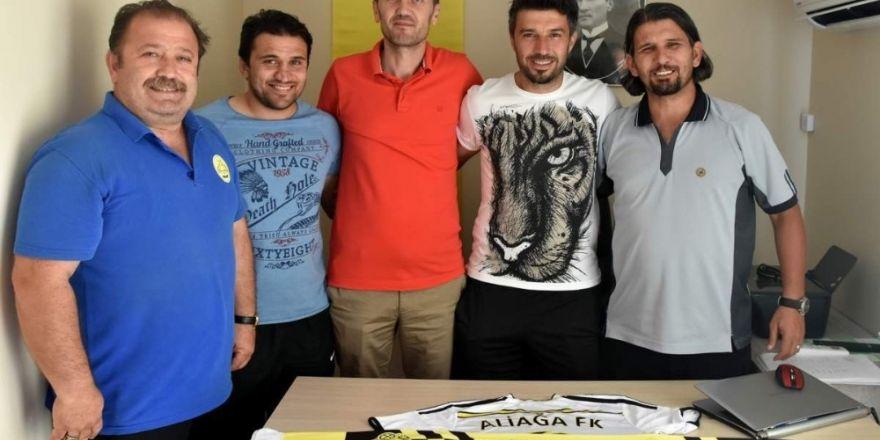 Aliağa FK'da Polat Çetin görevinin başında