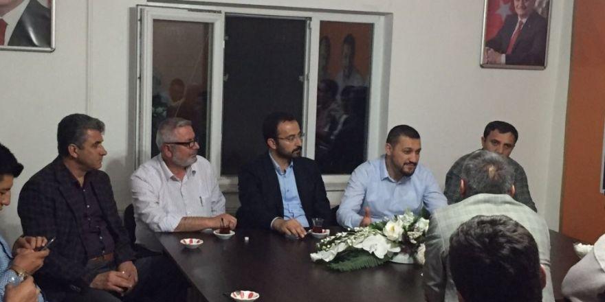 Milletvekili Açıkgöz AK Parti Derinkuyu ilçe teşkilatı ile iftar yaptı