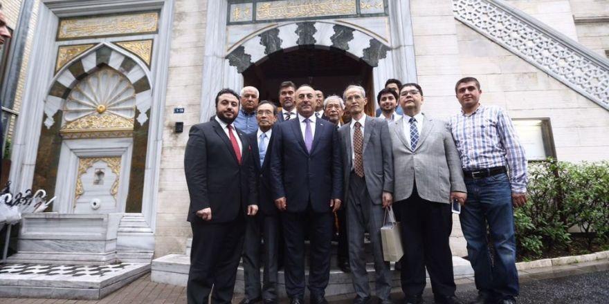 Bakan Çavuşoğlu, Tokyo Camii'ni ziyaret etti