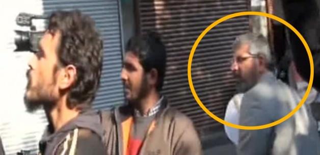 Diyarbakır Baro Başkanı Tahir Elçi'nin Öldürülme Anı