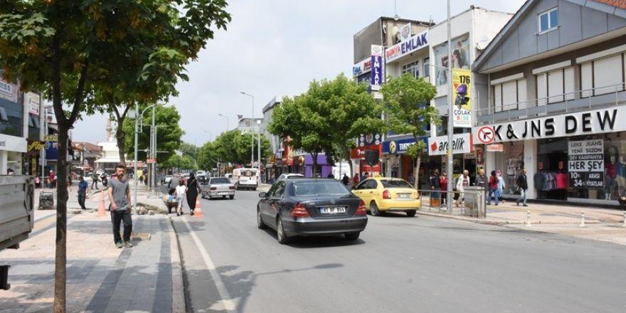 İstanbul Caddesinde çalışmalar bayrama kadar tamamlanacak