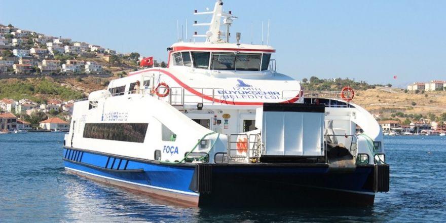 İzmir-Foça seferleri başlıyor