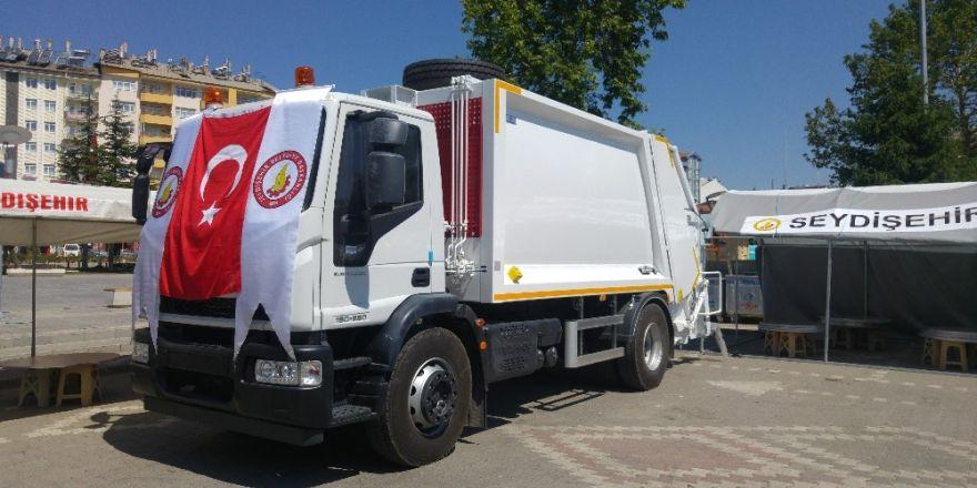 Seydişehir Belediyesi filosuna yeni araç