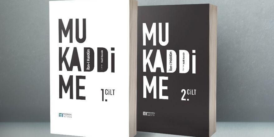 Mukaddime, MBB Kültür Yayınları'ndan çıktı