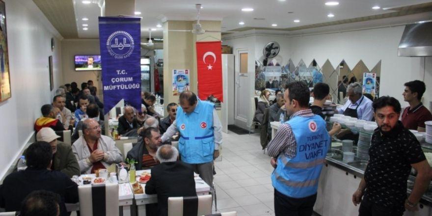 Müftülük engellileri iftar sofrasında buluşturdu