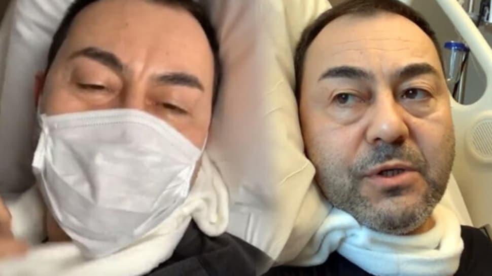 Serdar Ortaç koronavirüs şüphesiyle hastaneye kaldırıldı