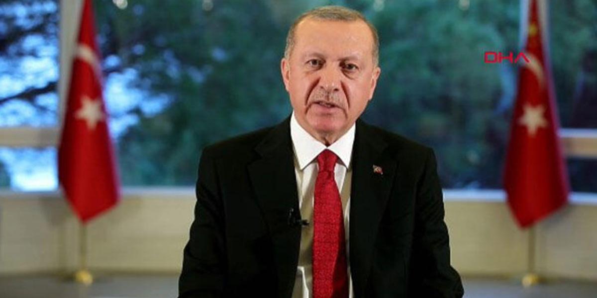 Cumhurbaşkanı Erdoğan: Koronavirüse karşı ilk tedbir alan ülkeyiz