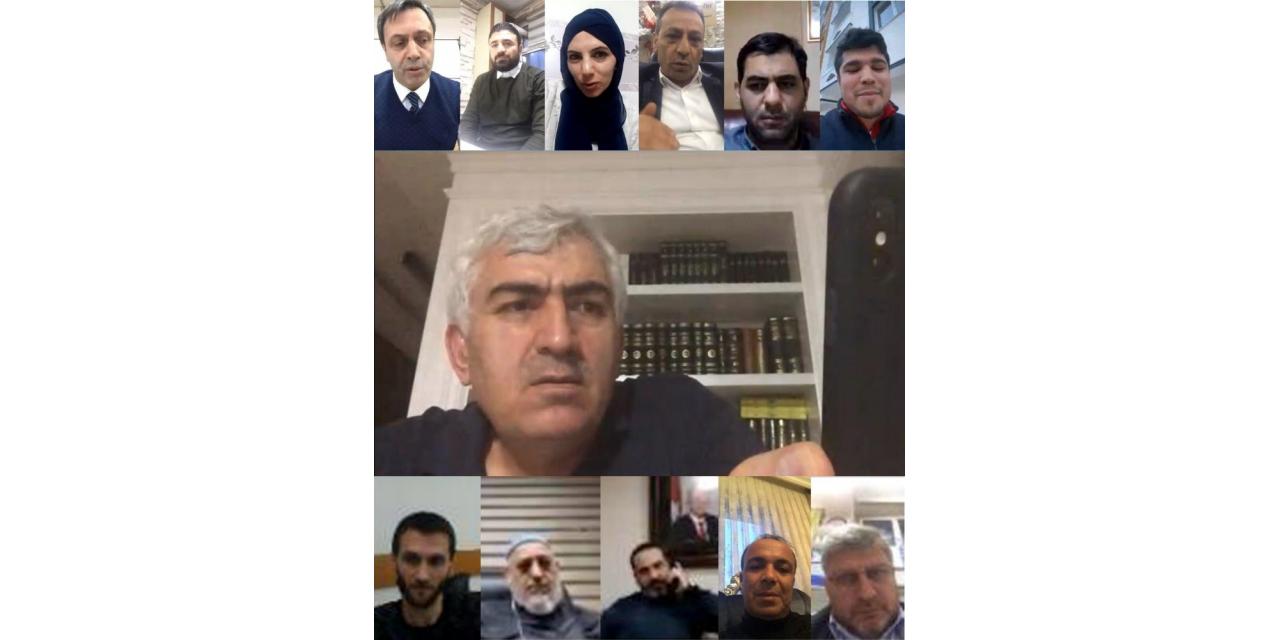 Ak Parti İl Yönetimi telekonferansla toplandı