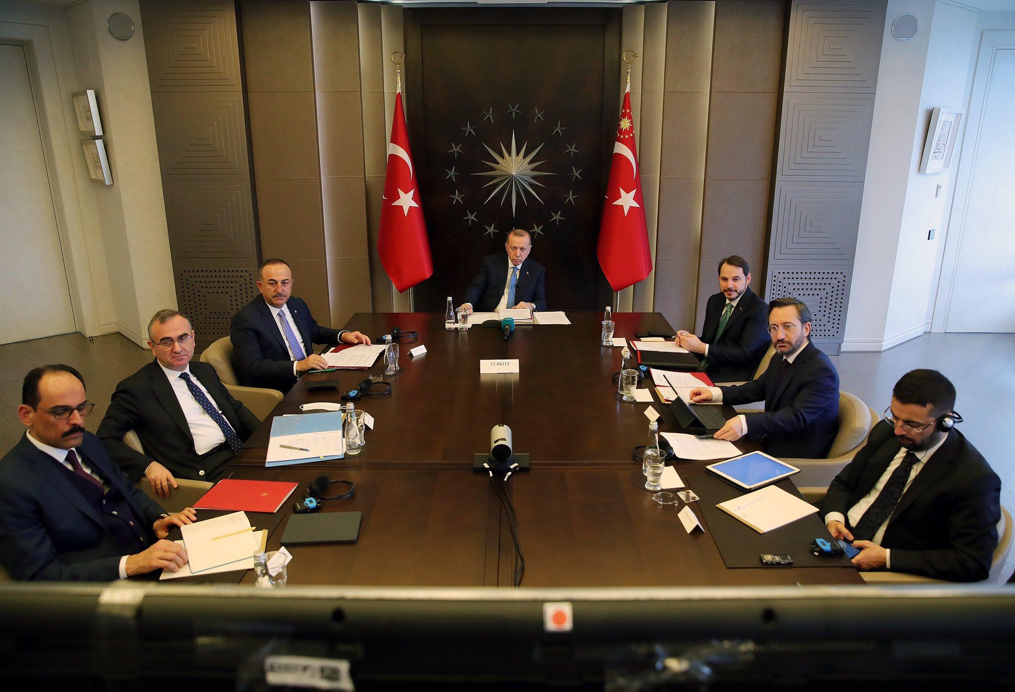 Cumhurbaşkanı Erdoğan, G-20 Liderler Zirvesine katıldı