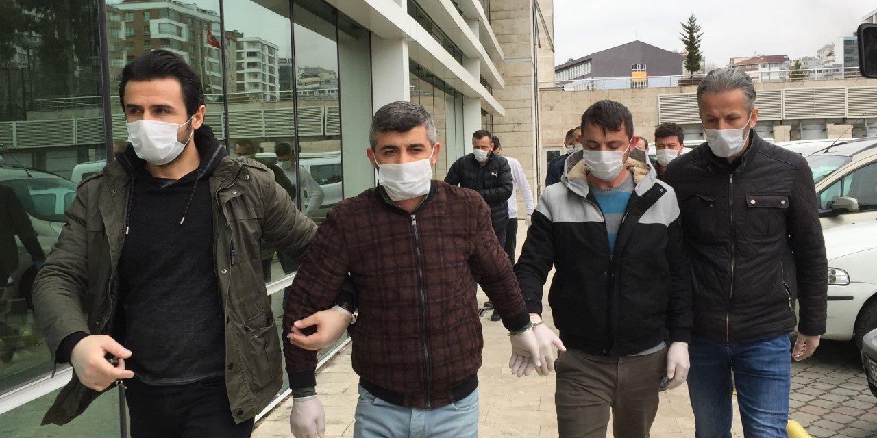 Samsun'da bir kişinin başından vurulduğu kavga, kamerada (2)