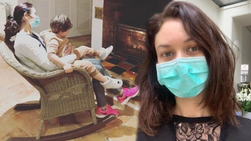 Olga Kurylenko koronavirüsten kurtuldu