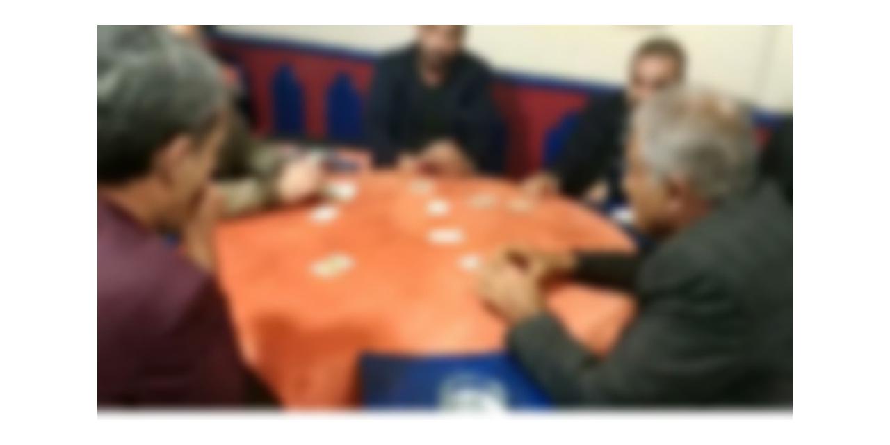 Kızıltepe'de ofisi kahvehaneye çevirdiler, 28 bin TL ceza yediler