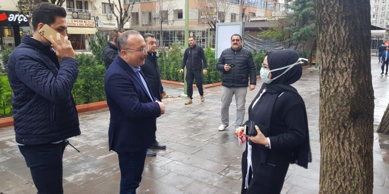 Vali Atik, dışarı çıkan vatandaşları uyardı