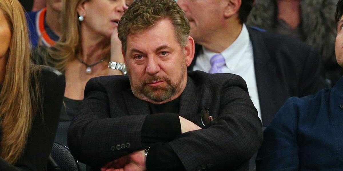 New York Knicks'in sahibi James Dolan'ın koronavirüs testi pozitif çıktı