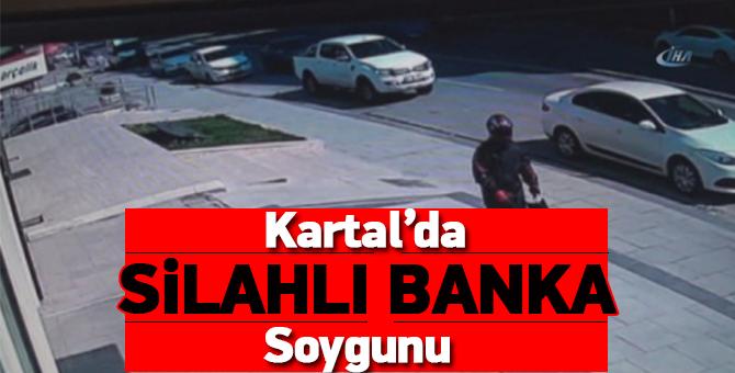 Flaş Gelişme: Kartal'da Silahlı Banka Soygunu
