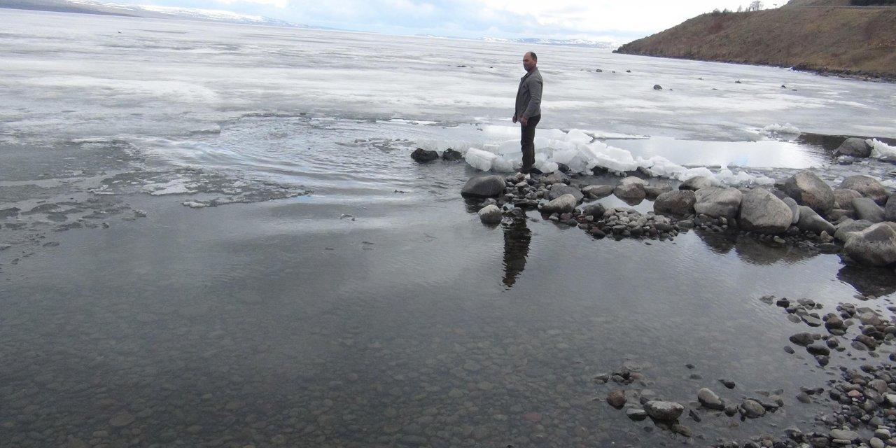 Çıldır Gölü'nde bahar uyanışı