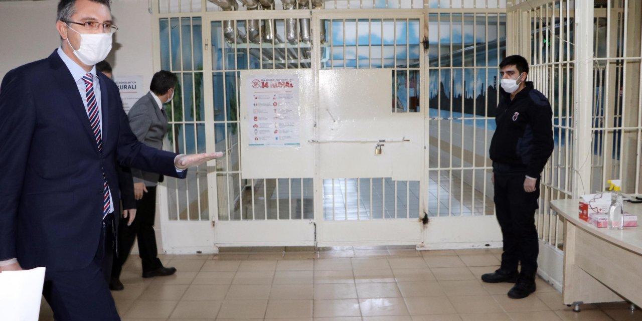 Erzurum Cumhuriyet Başsavcısı: Koronavirüse karşı cezaevleri en güvenilir yer