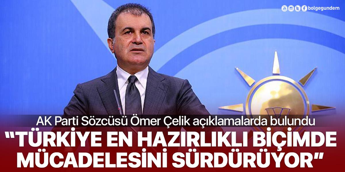AK Parti Sözcüsü Çelik, MYK Toplantısı sonrasında konuştu