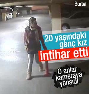 Genç kız 3. kattan atladı