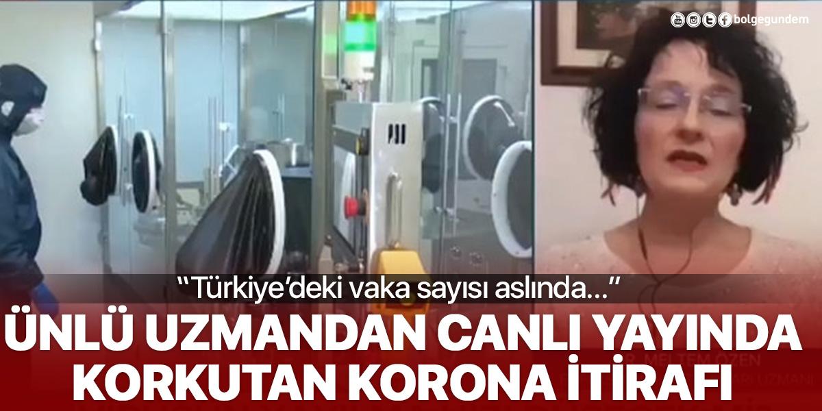 """Canlı yayın esnasında tüyler ürperten iddiayı ortaya attı: """"Türkiye'deki vaka sayısı aslında..."""""""