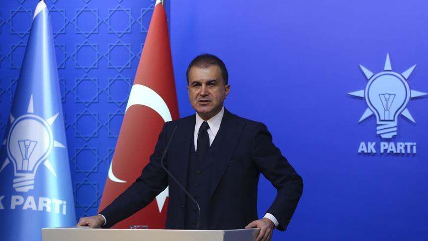 AK Parti Sözcüsü Çelik, Diyarbakır'daki hain saldırıyı kınadı