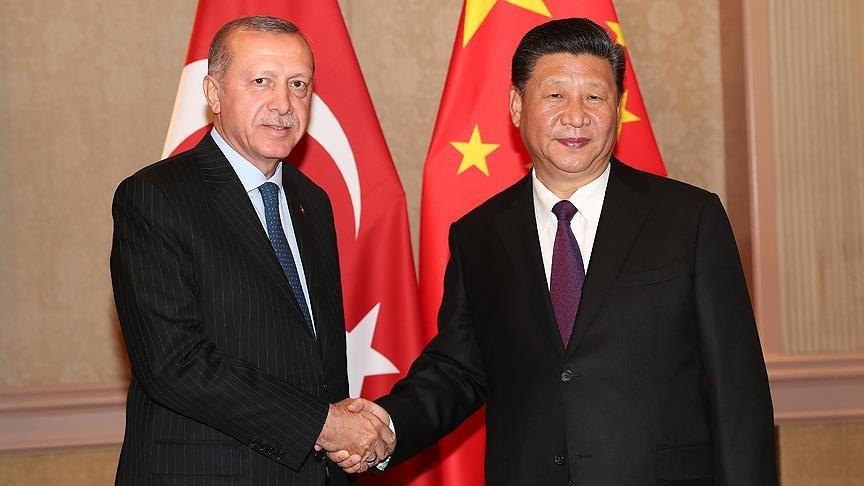 Cumhurbaşkanı Erdoğan'dan Çin Devlet Başkanı Şi Cinping ile kritik görüşme