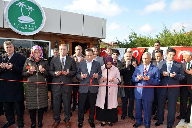 Tuzla Sosyal Tesisleri Palmiye Balık Restaurant Yeniden Hizmete Girdi