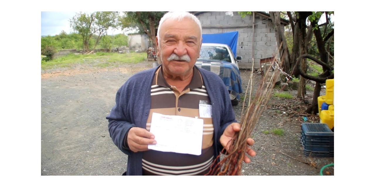 TV'den fidan sipariş eden çiftçiye kurumuş fidan yolladılar