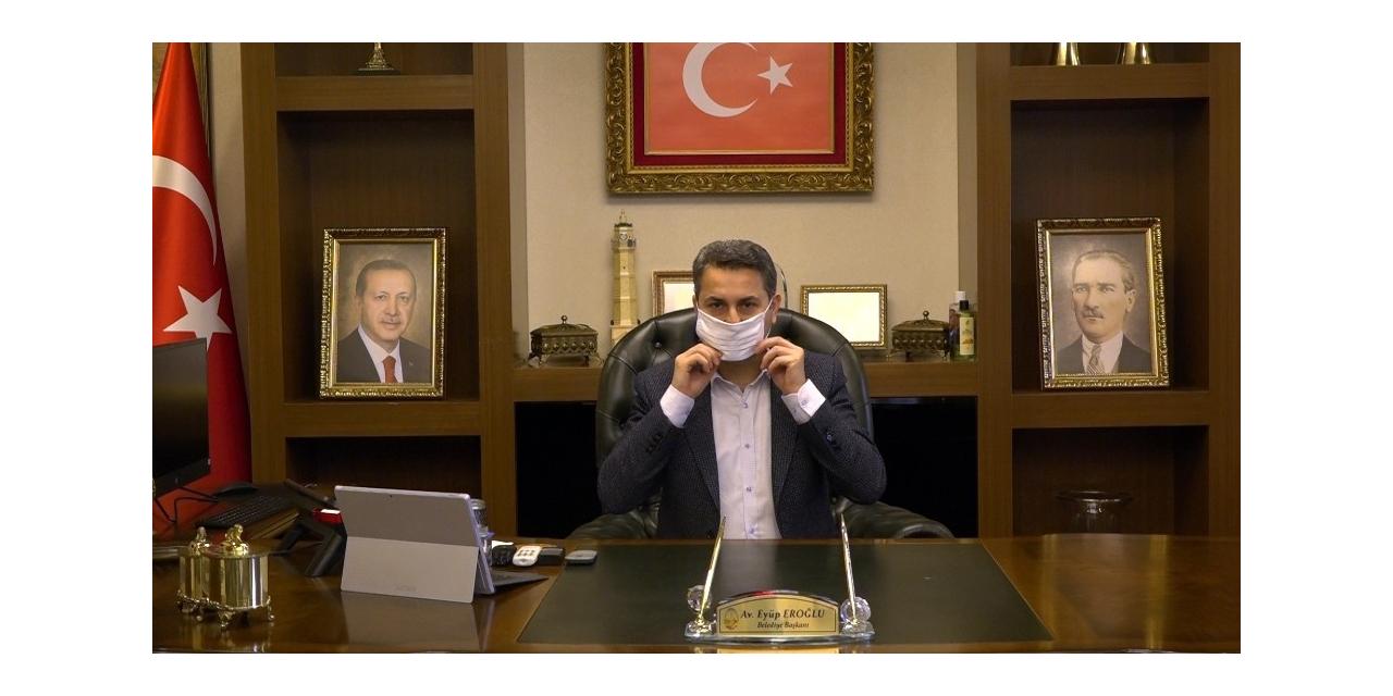 Başkan Eroğlu'dan maske uyarısı