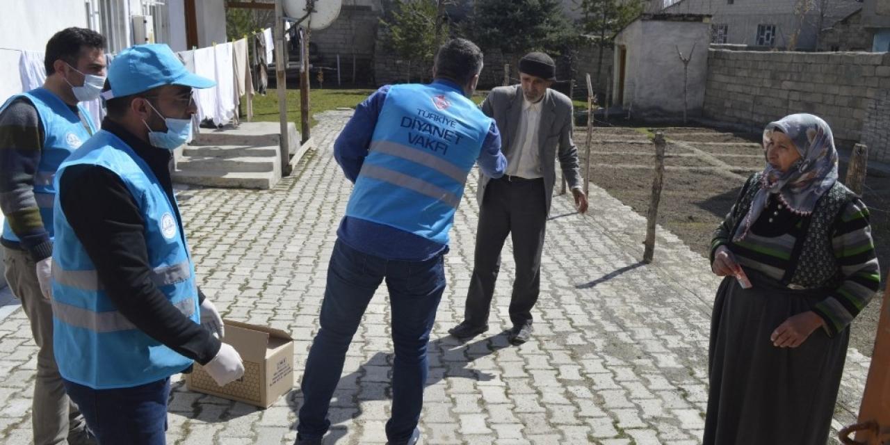 Türkiye Diyanet Vakfı Ağrı'da bin 400 aileye ulaşacak