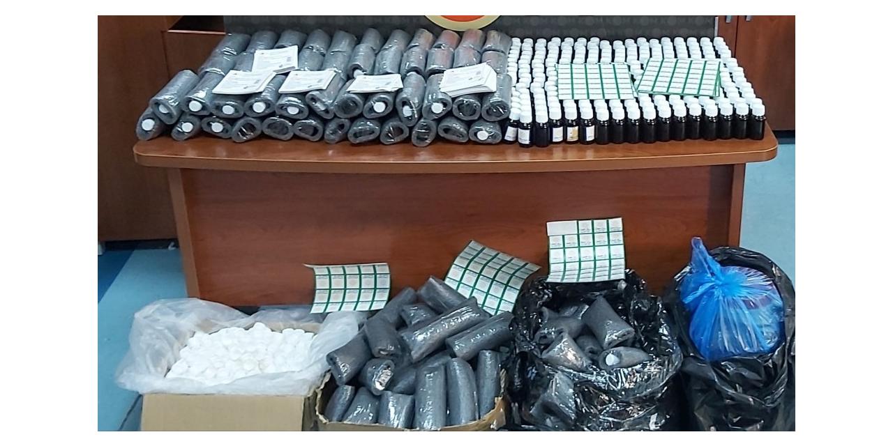 Adana'da 30 litre kaçak viski kiti aroması ele geçirildi