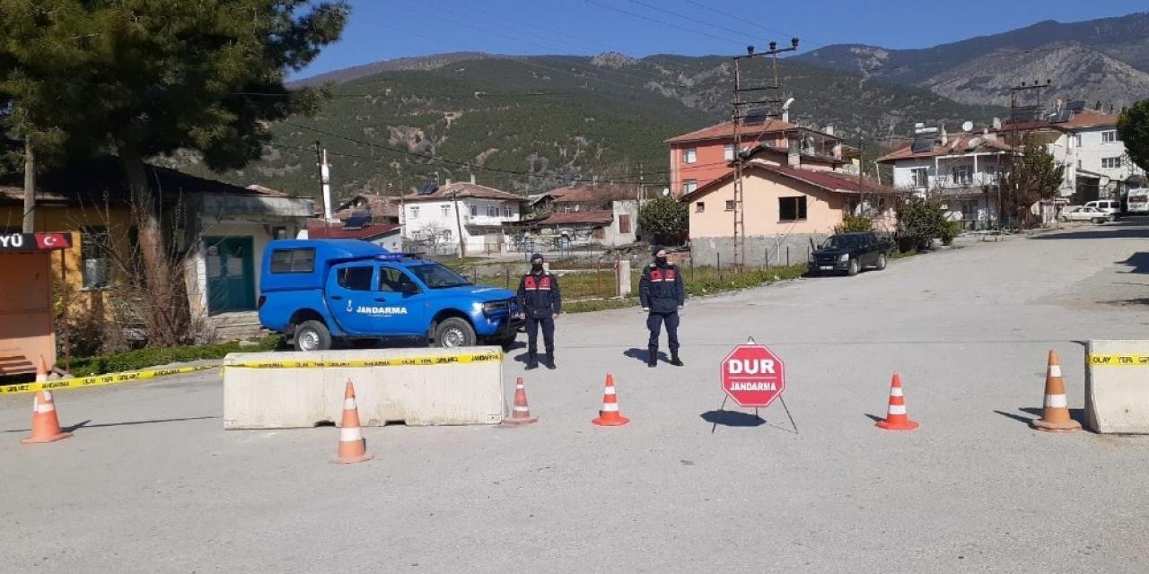 Kargı'ya bağlı Yeşilköy Köyü karantinaya alındı