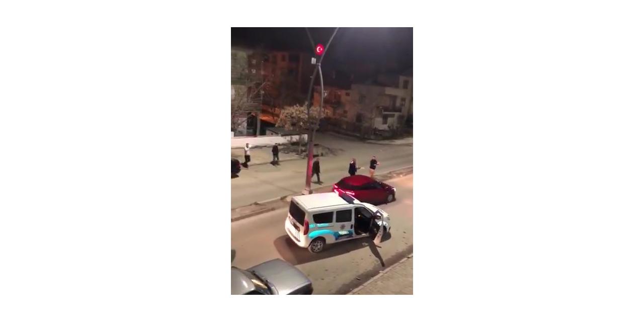 Kavga ihbarına giden polisler şok oldu