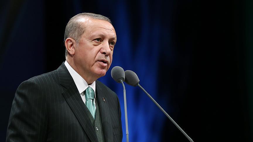 Cumhurbaşkanı Erdoğan'dan Türk Polis Teşkilatına kutlama mesajı