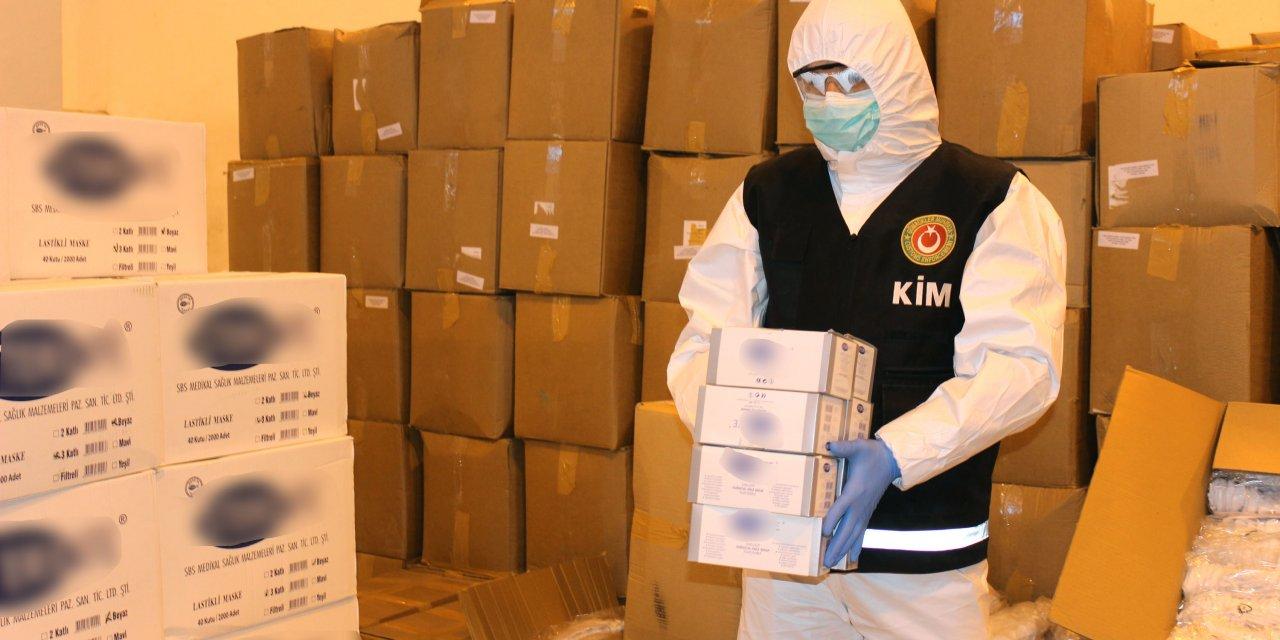 Yurt dışına çıkarılacak 1 milyon 200 bin lira değerinde tıbbi malzeme ele geçirildi