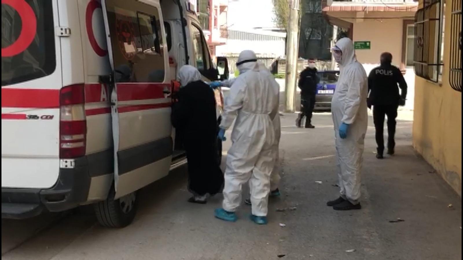 Bursa'da hastaneden kaçan koronavirüs hastası evinde yakalandı