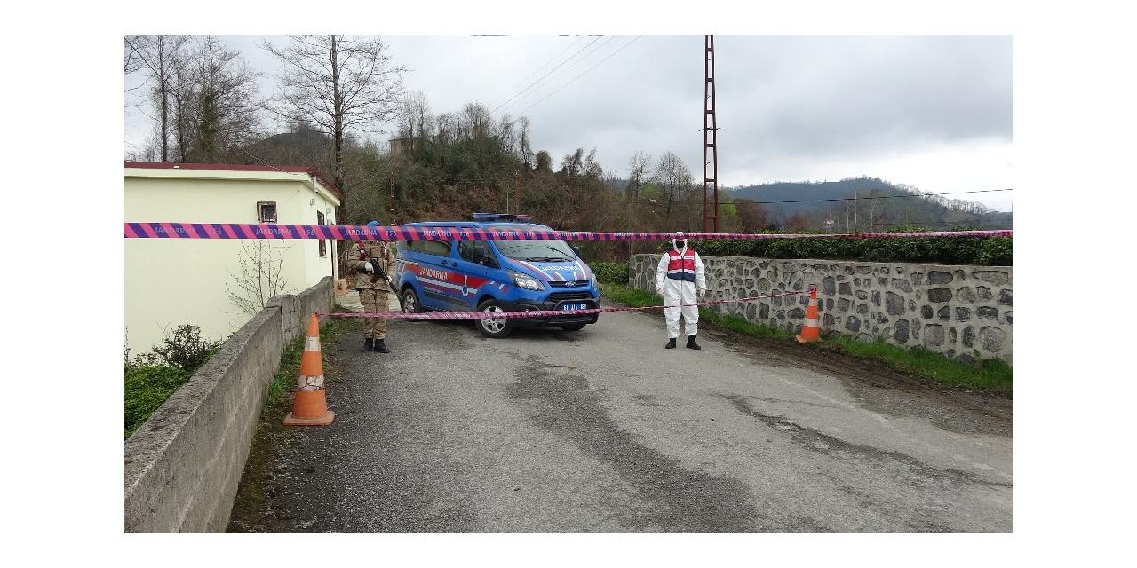Trabzon'un Hayrat ilçesinin 5 mahallesindeki yaklaşık 2 bin kişinin karantinası sürüyor
