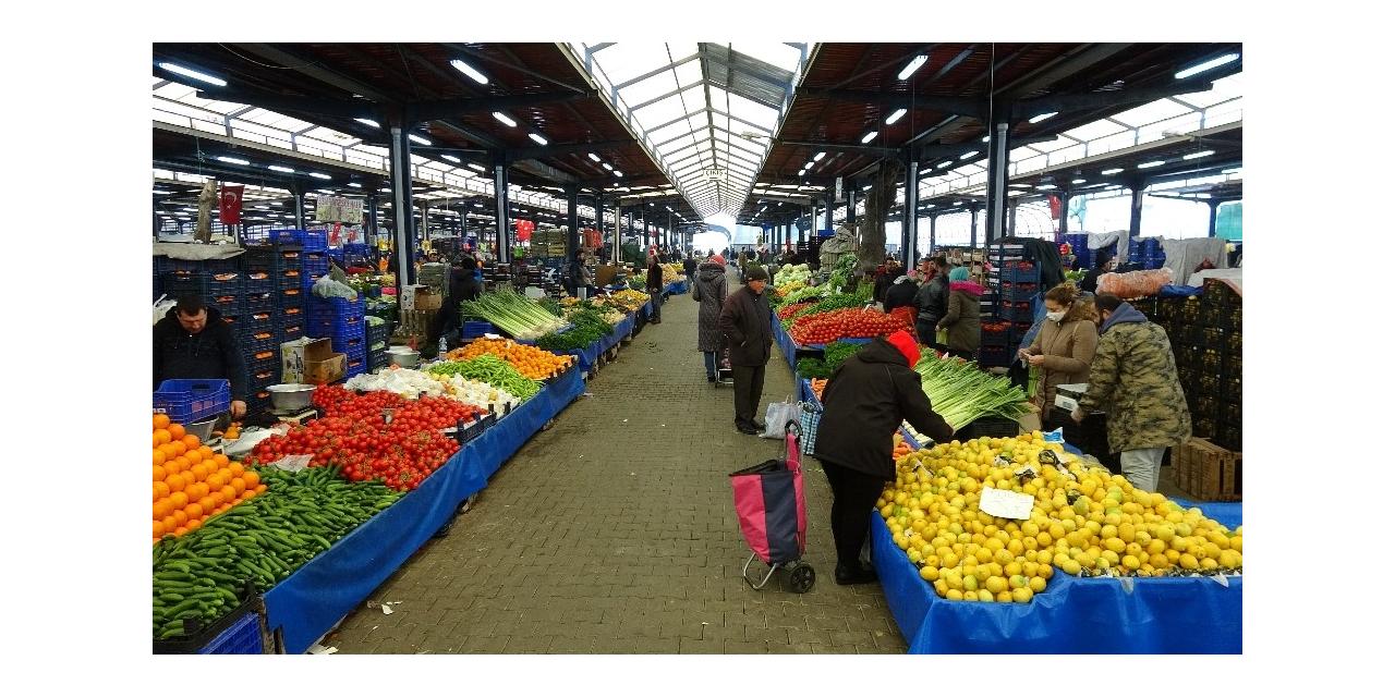 Çanakkale'deki pazarlar 2'ye indirildi