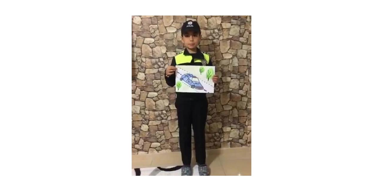 Gercüş Cumhuriyet İlkokulu öğrencileri Polis Haftasını unutmadı