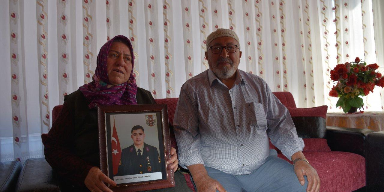 Şehit babasından 'Milli Dayanışma Kampanyası'na destek