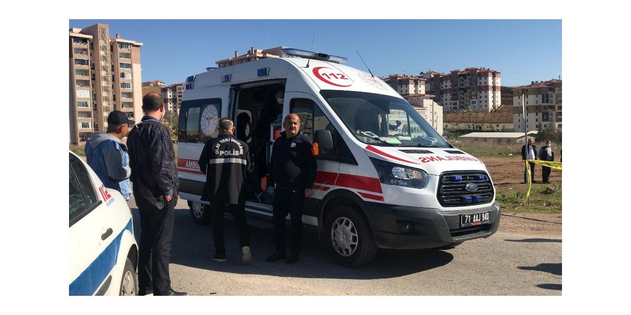 Kırıkkale'de silahla yaralama